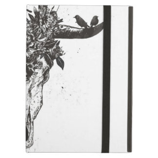 Dead summer (blackandwhite) iPad air case
