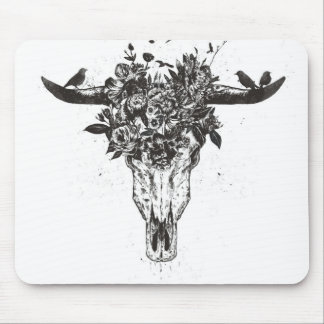 Dead summer (blackandwhite) mouse pad