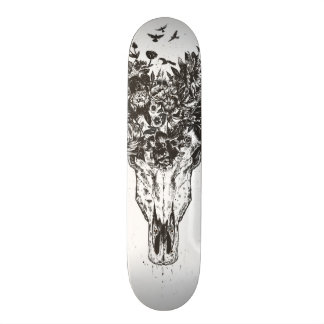 Dead summer (blackandwhite) skateboard deck