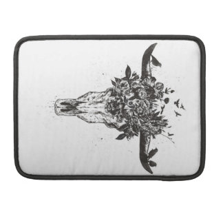 Dead summer (blackandwhite) sleeve for MacBook pro