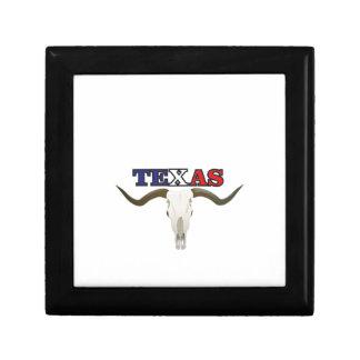 dead texas longhorn gift box