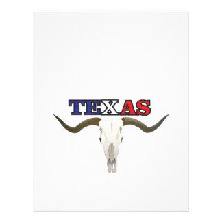 dead texas longhorn letterhead
