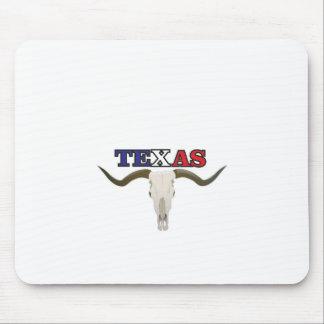 dead texas longhorn mouse pad