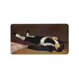 Dead Torero by Edouard Manet