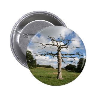 Dead Tree 2 Inch Round Button