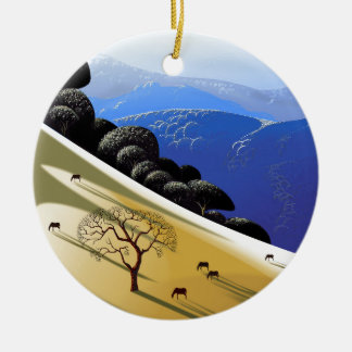 Dead Tree High Rez.jpg Ceramic Ornament