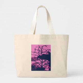 Dead Tree of Hawaii Gone Purple Tote Bag
