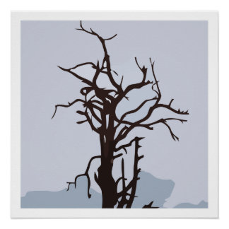 Dead tree perfect poster