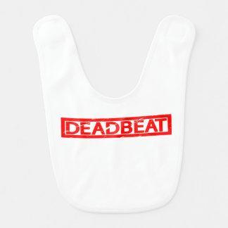 Deadbeat Stamp Bib