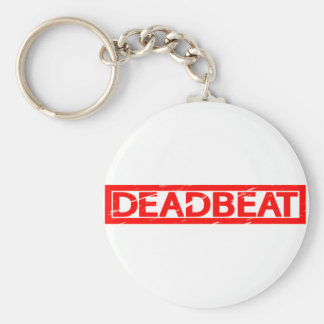 Deadbeat Stamp Keychain