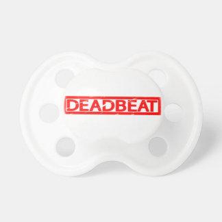 Deadbeat Stamp Pacifier