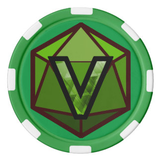 DEADLANDS - Green Team Poker Chip Poker Chips Set