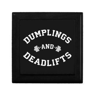 Deadlifts and Dumplings - Funny Bulking Novelty Gift Box