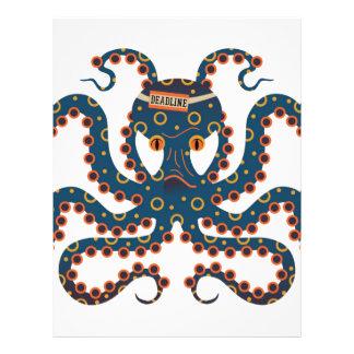 Deadline octopus letterhead
