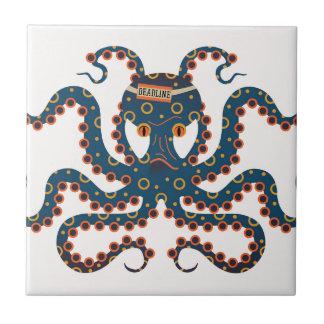 Deadline octopus tile