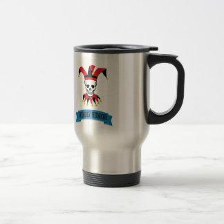 deadly humor joker travel mug