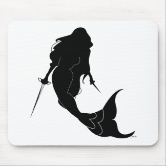 Deadly Mermaid Mouse Pad