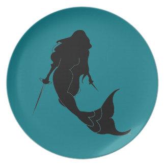Deadly Mermaid Plates