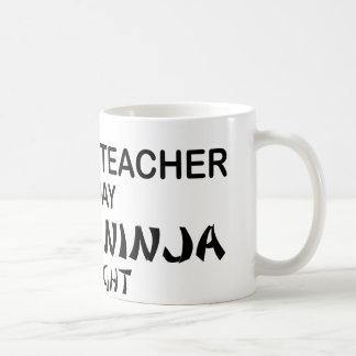 Deadly Ninja by Night Coffee Mug