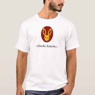 Deadly rabbit head, <Deadly Rabbits> T-Shirt