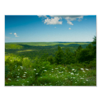 Deadman's Hill Overlook, Michigan Poster