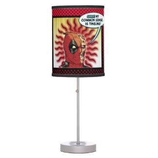 Deadpool Common Sense Table Lamp