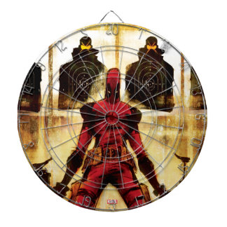 Deadpool Firing Range Dartboard