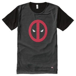 Deadpool Logo All-Over-Print T-Shirt