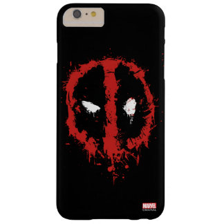 Deadpool Paint Splatter Logo Barely There iPhone 6 Plus Case