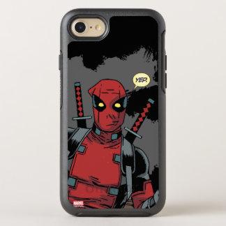 Deadpool Yep OtterBox Symmetry iPhone 8/7 Case
