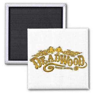 Deadwood Saloon Square Magnet