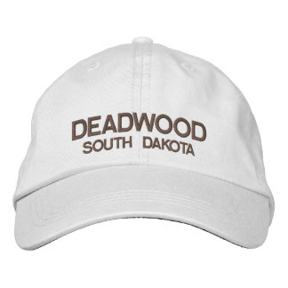Deadwood* South Dakota Personalized Adjustable Hat