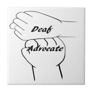 Deaf Advocate Tile