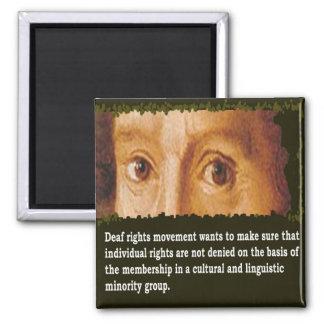 Deaf Civil Rights Movement Magnet