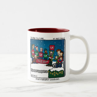 Deaf-Friendly Carolers Mug
