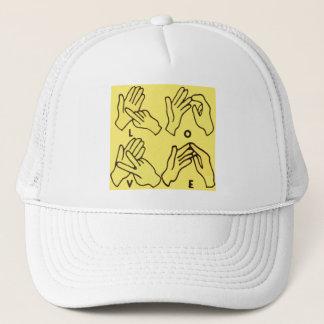"""""""Deaf Love"""" by Axel Bottenberg Trucker Hat"""