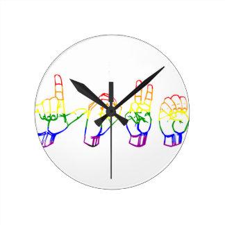 Deaf Love Clock