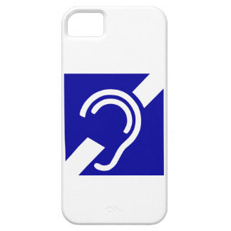 Deaf Symbol iPhone 5 Cover