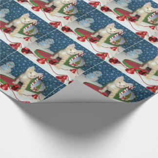 Deaglan's Christmas Card Mailbox Wrapping Paper