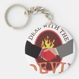 Deal With Devil Keychain