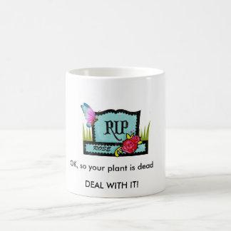 """DEAL WITH IT!"" 11 oz. WHITE COFFEE MUG"