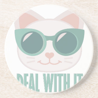 Deal With It Drink Coaster