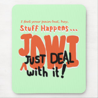 Deal With It Mouse Pad