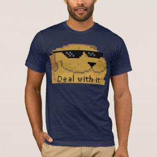 Deal with it (Smugdog) HD Meme T-Shirt