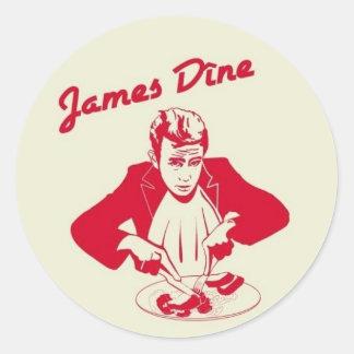 Dean Classic Round Sticker
