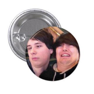 Dean & Dan 1 Inch Round Button