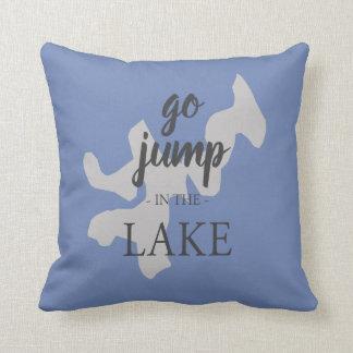 Dean Lake Throw Pillow