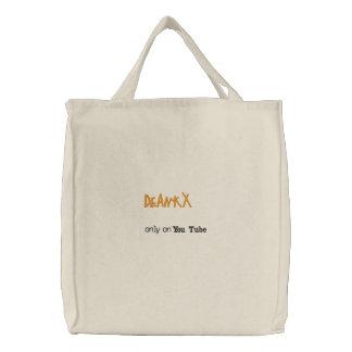 deankx Handbag Embroidered Tote Bag