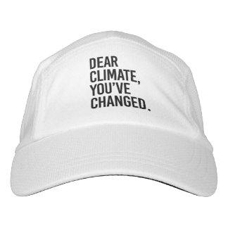 Dear Climate, You've Change - - Pro-Science - Headsweats Hat