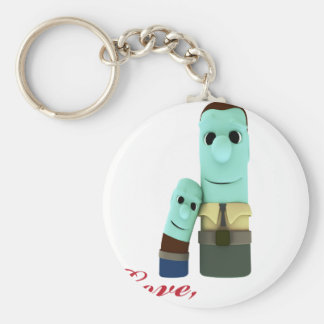 Dear Dad Keychain